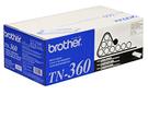 TN-360 brother原廠黑白雷射專用碳粉匣 (可列印2600頁) HL-2140,HL-2170W,DCP-7030,DCP-7040