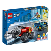 LEGO 樂高 CITY 城市系列 60273 特警鑽機追逐戰 【鯊玩具Toy Shark】