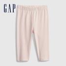 Gap女幼童 布萊納系列 輕薄透氣針織長褲 689375-淡粉色