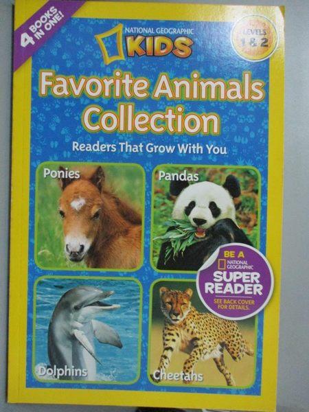 【書寶二手書T1/兒童文學_ZGC】Favorite Animals_Marsh, Laura/ Stewart, Melissa