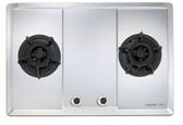 【甄禾家電】櫻花SAKURA 瓦斯爐爐具G2623S 二口大面板易清檯面爐限大台北免運不鏽鋼G2623S