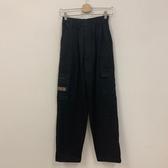 韓版百搭基本款高腰工作褲休閒褲(XL號/121-5066)