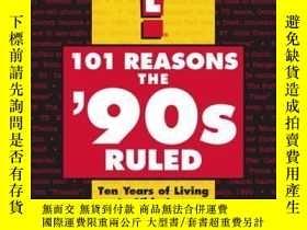 二手書博民逛書店101罕見Reasons the 90s RuledY362136 M.C. King M.C. Ki...