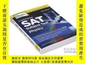 二手書博民逛書店Cracking罕見the SAT Subject Test i