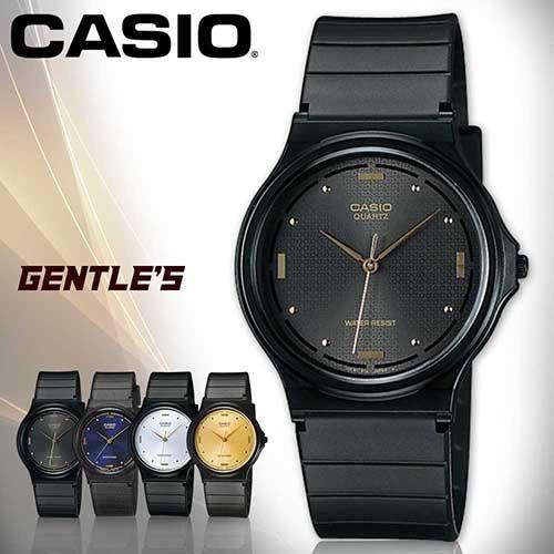 CASIO手錶專賣店 卡西歐 MQ-76-1A 男錶 中性錶 壓克力鏡面 學生必備 指針 數字 塑膠錶殼 橡膠錶帶