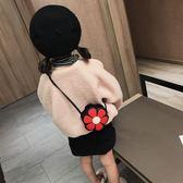 兒童斜背包小包 2019新款可愛公主小挎包潮 女童寶寶迷你時尚包 滿天星