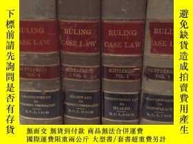 二手書博民逛書店精裝本RULING罕見CASE LAW《SUPPLEMENT T