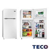 TECO 東元 125公升 雙門冰箱 R1303W