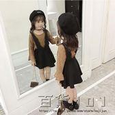 女童套裝連身裙春秋裝二件式