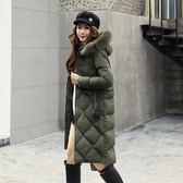 羽絨外套 中長款-時尚流行韓版顯瘦女夾克3色73it190[時尚巴黎]