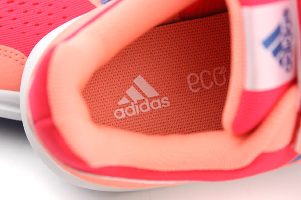 adidas Runfastic CF K 跑鞋 運動鞋 舒適 避震 透氣 三個魔鬼氈 桔 橘色 童 AF4621 no286