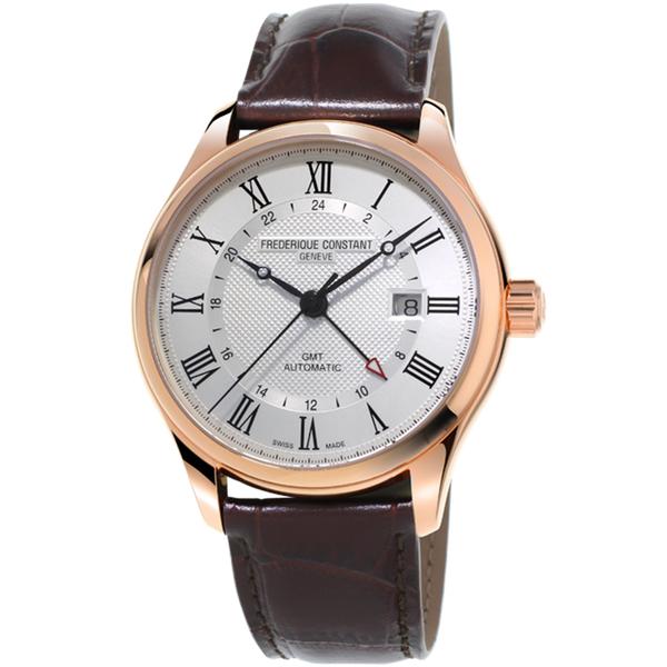 康斯登 CONSTANT CLASSICS AUTOMATIC GMT腕錶 FC-350MC5B4