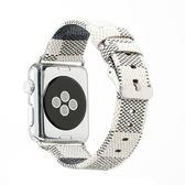 錶帶適用apple watch皮帶蘋果手錶皮細錶帶iwatch1/2/3女生款38/42 全館免運