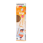 【瑞士藥廠】活力營養吸管(橘子口味/7支入)綜合維生素+礦物質