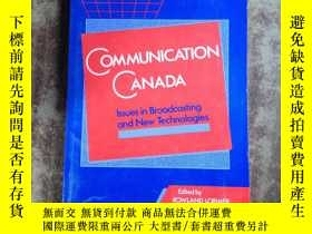 二手書博民逛書店communication罕見canada (英文原版)5375
