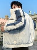 外套男 新款秋冬季韓版潮流加絨加厚上衣服工裝秋季夾克潮牌【快速出貨】