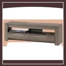 【多瓦娜】歐登深木色5尺雙抽電視櫃 21152-466006