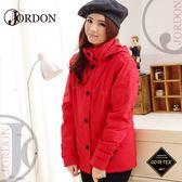 【JORDON 橋登 女 GORE-TEX 二件式外套《紅色》】1112/防水外套/羽絨衣