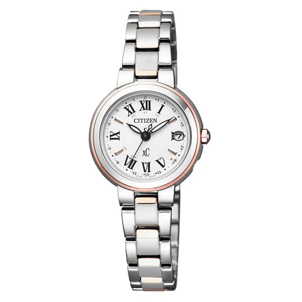 CITIZEN xC 梵蒂岡之夜電波時計腕錶-ES9004-52A