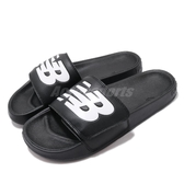 New Balance 拖鞋 NB 200 黑 白 男鞋 女鞋 運動拖鞋 【PUMP306】 SMA200B1D