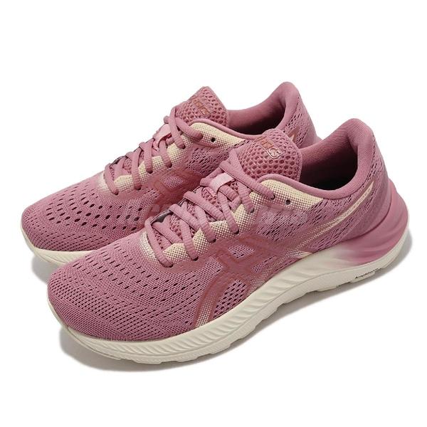 Asics 慢跑鞋 GEL-Excite 8 乾燥玫瑰 紅 白 亞瑟士 路跑 女鞋 【ACS】 1012A916702