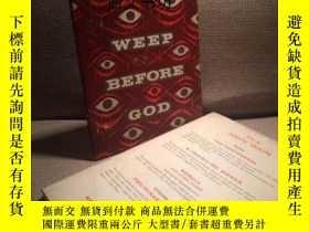 二手書博民逛書店【罕見】1961年珍貴英國初版 Weep Before God