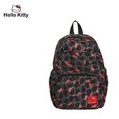 【橘子包包館】Hello Kitty 繽紛凱蒂-後背包-黑 KT01V07BK