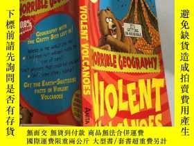 二手書博民逛書店violent罕見volcanoes猛烈的火山Y200392