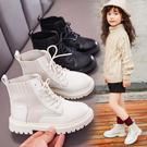 女童馬丁靴2019秋季新款低筒短靴時尚網紅兒童靴子中大童