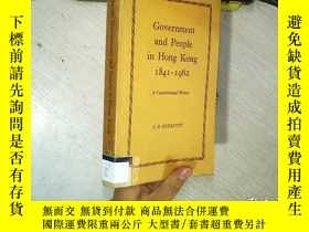 二手書博民逛書店Government罕見and People in Hong K