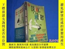 二手書博民逛書店DRINK罕見AND BE MERRY(漫畫版)不認識外文,作者