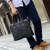 男包帆布包包男士手提包