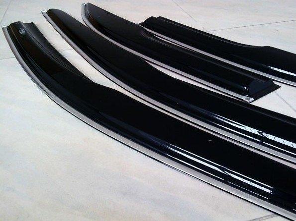 【車王小舖】豐田RAV4晴雨窗 RAV4無限款晴雨窗帶鍍烙條 台中店