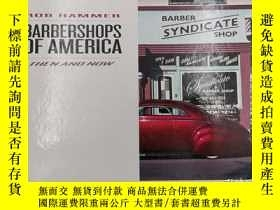 二手書博民逛書店rob罕見hammer barbershops of ameri
