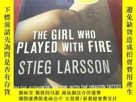 二手書博民逛書店the罕見girl who played with fireY8