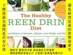二手書博民逛書店The罕見Healthy Green Drink Diet: A