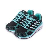 PROMARKS 多功能氣墊運動鞋 黑綠 女鞋 鞋全家福
