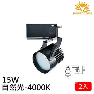 HONEY COMB LED 15W 防眩軌道式燈具 2入一組TK6206-4 自然光