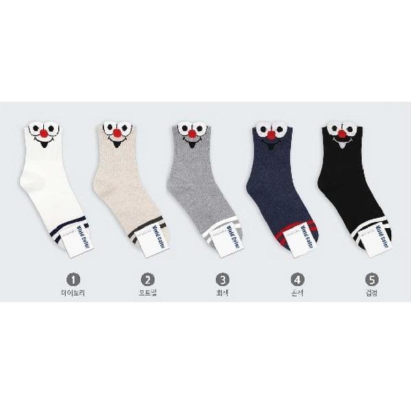 韓國可愛造型短襪-多款任選 (SOCK-121-W)