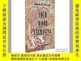 二手書博民逛書店塞維林:Your罕見wood engraving 1953年Y2