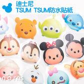 【迪士尼 TSUM TSUM防水貼紙】Norns 米奇米妮 維尼 史迪奇 大眼仔 壁貼