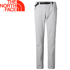 【The North Face 女款 彈性長褲〈灰〉】2XTZ/春夏款/彈性長褲/休閒長褲★滿額送