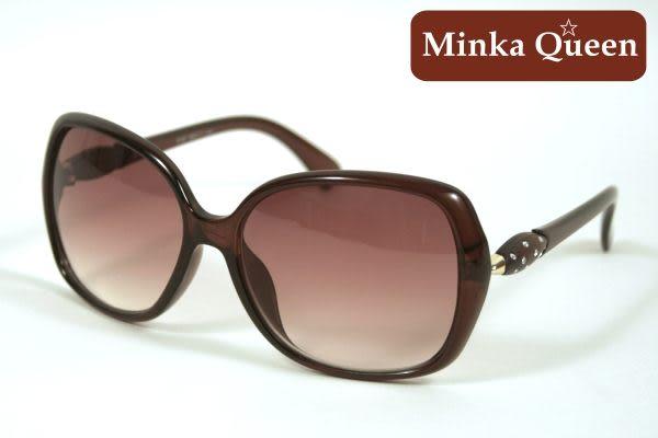 Minka Queen 復古咖啡框(抗UV400)時尚百搭太陽眼鏡