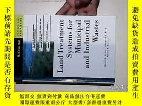 二手書博民逛書店Land罕見Treatment Systems for Municipal and Industrial Wast