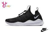 NIKE FREE RN CMTR 2018 慢跑鞋 女款 襪套式運動鞋 O7207#黑色◆OSOME奧森童鞋