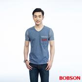 BOBSON  男款異素材搭配上衣(26023-53)