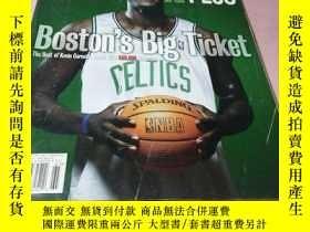 二手書博民逛書店basketball罕見card plus September October 2007 Issue 26Y1