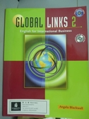 【書寶二手書T2/語言學習_PMV】Global Links: English for International Bu