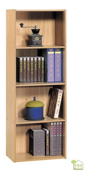 [ 家事達] TMT 四格原木紋組合櫃 書櫃 收納櫃 (DL-M400)-