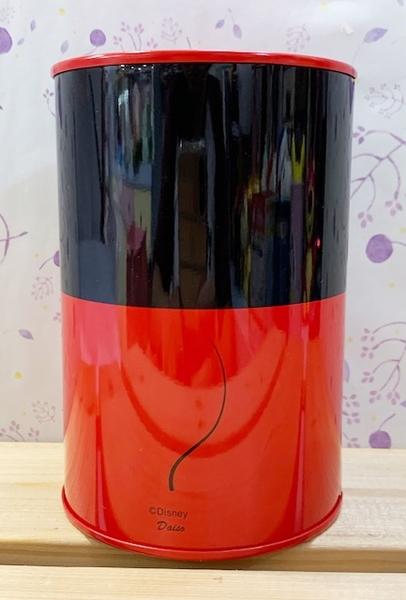 【震撼精品百貨】米奇/米妮_Micky Mouse~日本迪士尼鐵製存錢筒/撲滿-黑紅#90890